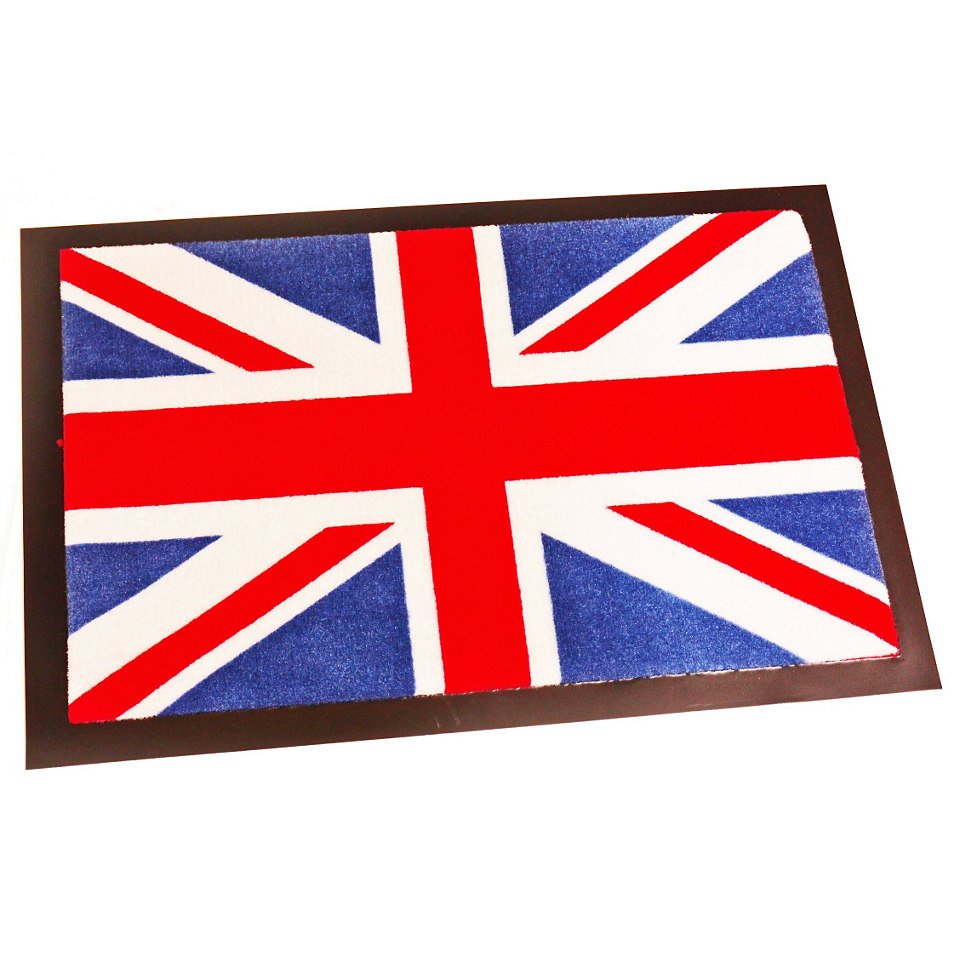 Fußmatte, Hanse Home, »Union Jack«, rutschhemmend beschichtet