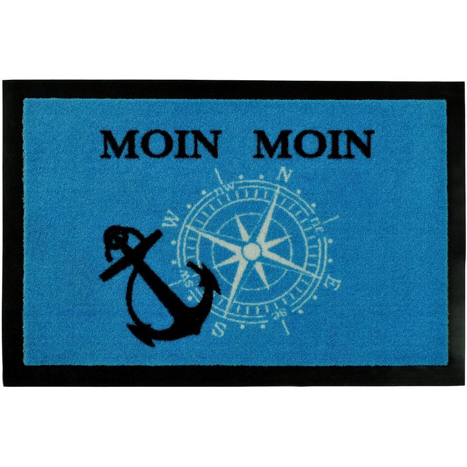 Fußmatte »Moin Moin«, rutschhemmend beschichtet, Hanse home