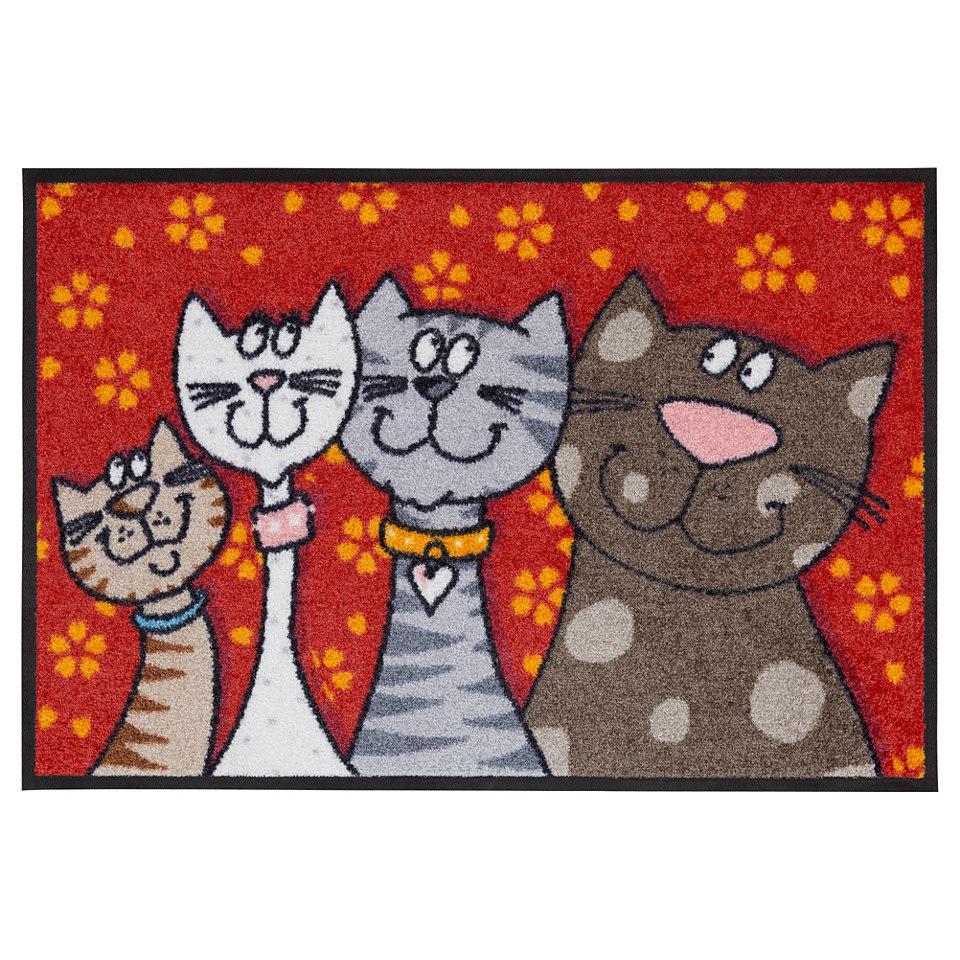 Fußmatte, Salonlöwe »Katzen«