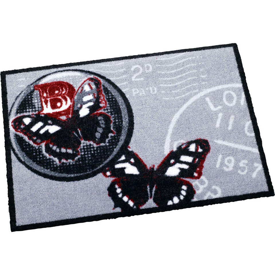 Fußmatte, Zala Living, »Schmetterling Post Stamp«