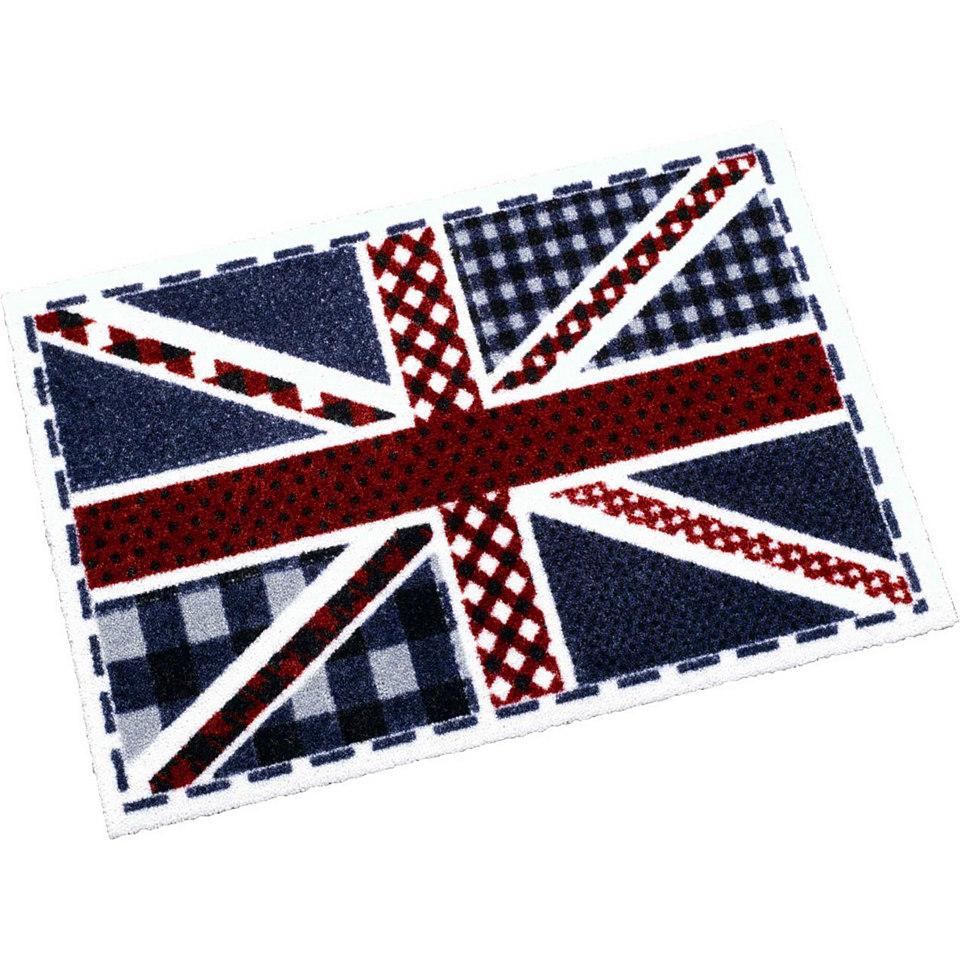 Fußmatte, Zala Living, »Union Jack Karo«