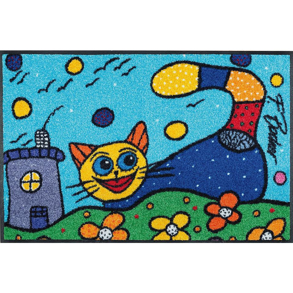 Fußmatte, wash+dry by Kleen-Tex, »Catch me«, rutschhemmend beschichtet