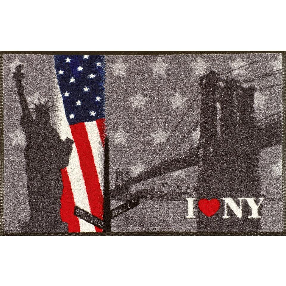 Fu�matte, wash+dry by Kleen-Tex, �New York�, rutschhemmend beschichtet