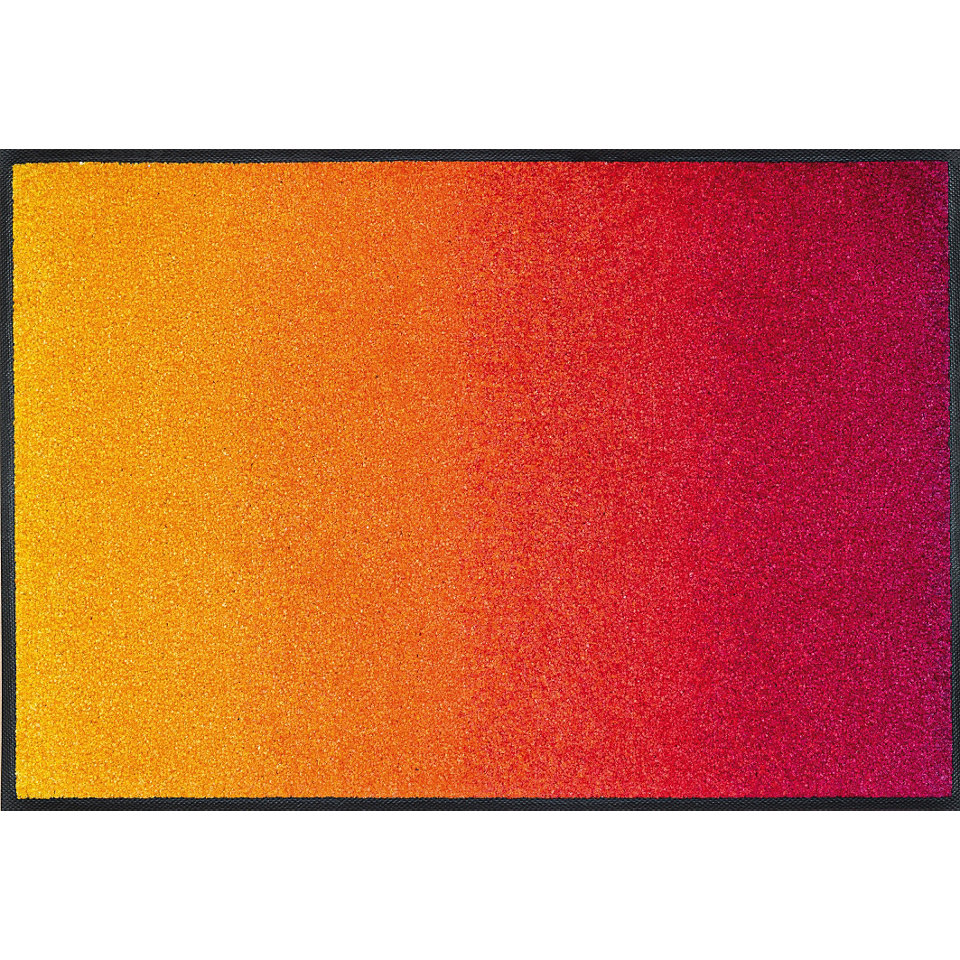 Fußmatte, wash+dry by Kleen-Tex, »Red Rainbow«, rutschhemmend beschichtet