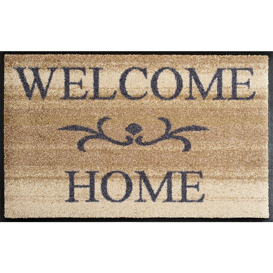 Fu�matte, wash+dry by Kleen-Tex, �Welcome Home�, rutschhemmend beschichtet