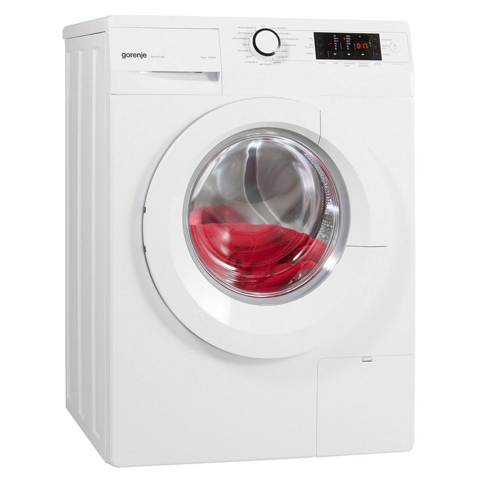 GORENJE Waschmaschine W6426P, A+++, 6 kg, 1200 U/Min