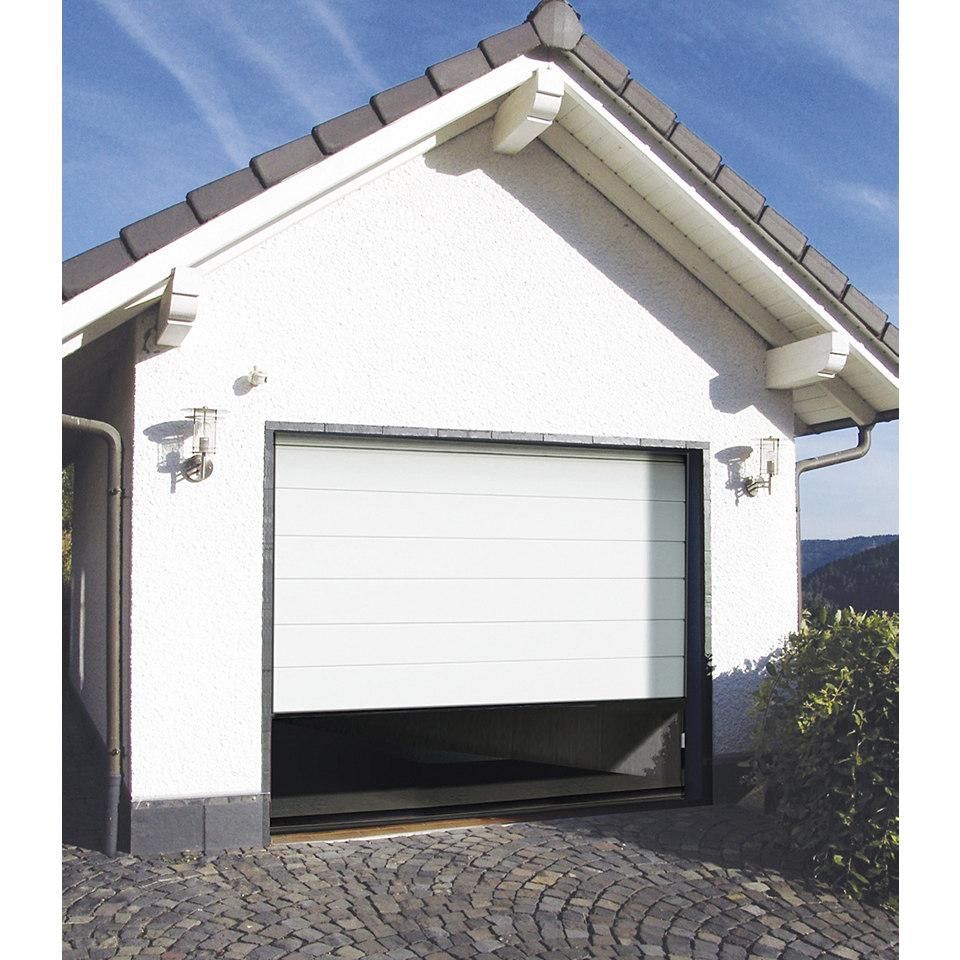 Garagentor, weiß, 2500/2125 mm