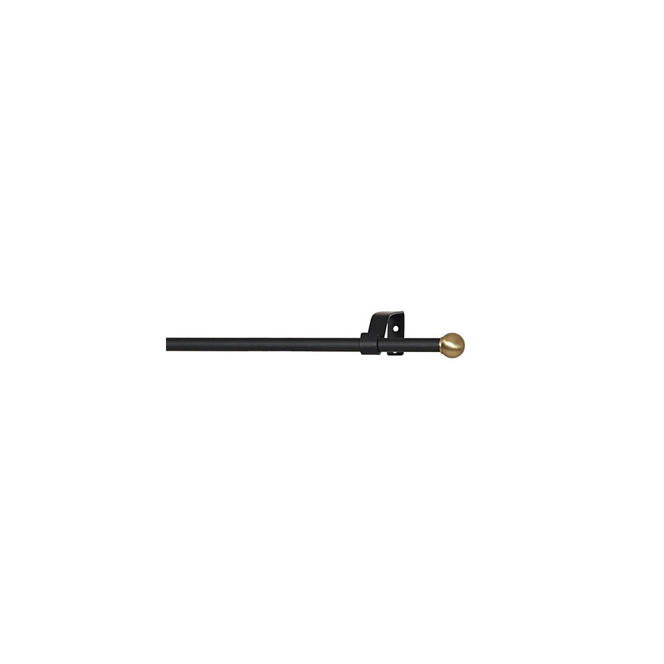 Gardinenstange 1-l�ufig im Fixma� � 12 mm, Indeko, �London�