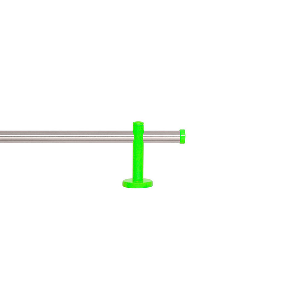 Gardinenstange 1-l�ufig nach Ma� � 20 mm, Blome, �Sunny Edelstahl�