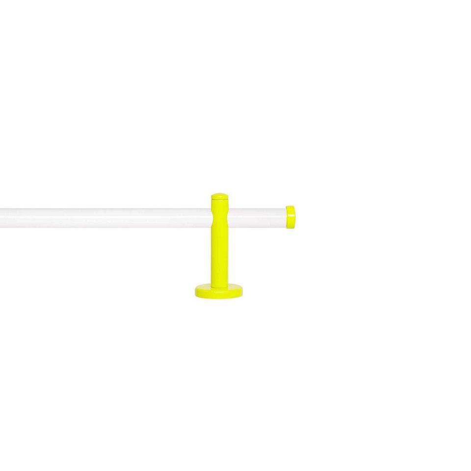 Gardinenstange 1-läufig nach Maß ø 20 mm, Blome, »Sunny Weiß«