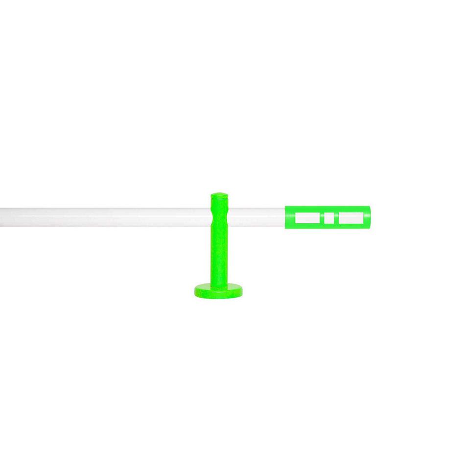 Gardinenstange 1-läufig nach Maß ø 20 mm, Blome, »Sweet Weiß«