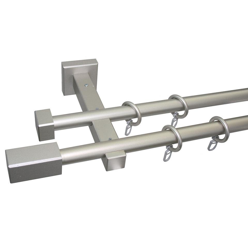 Gardinenstange, Garesa, �Cubus Quader�, nach Ma� � 20 mm