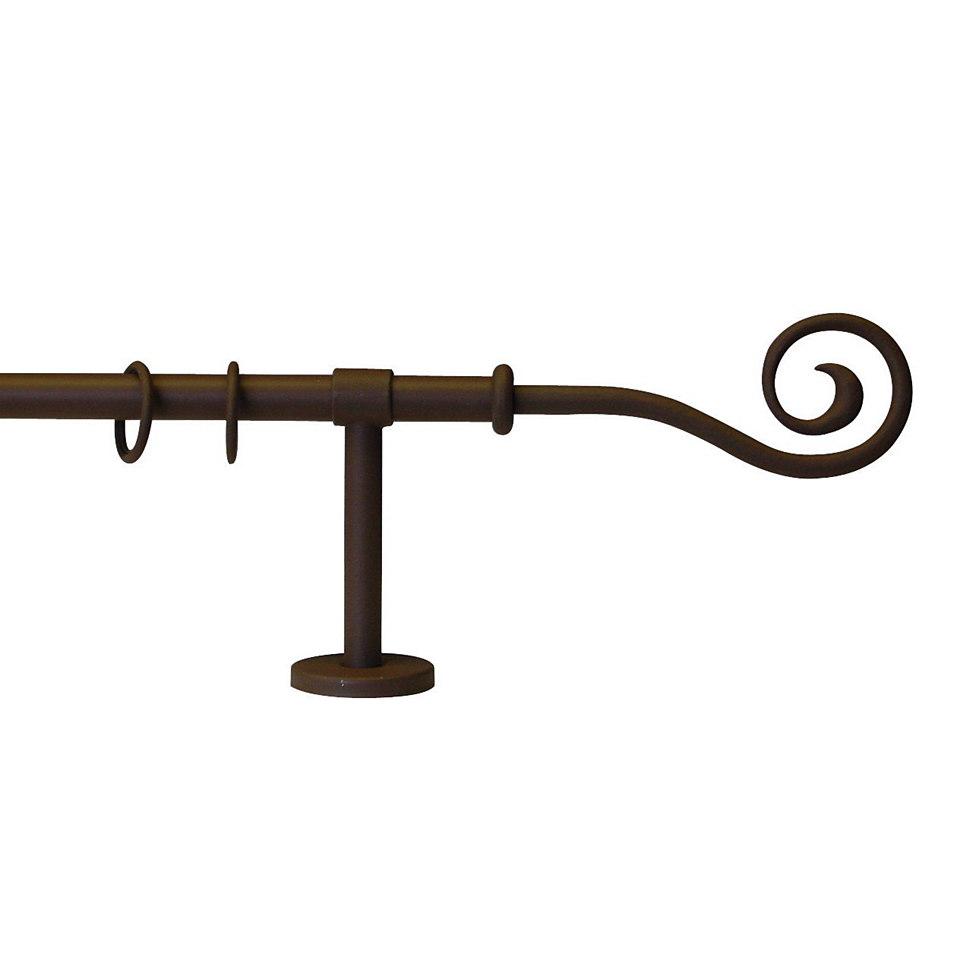 Gardinenstange, Garesa, »Esperanza Spirale«, nach Maß, ø 16 mm