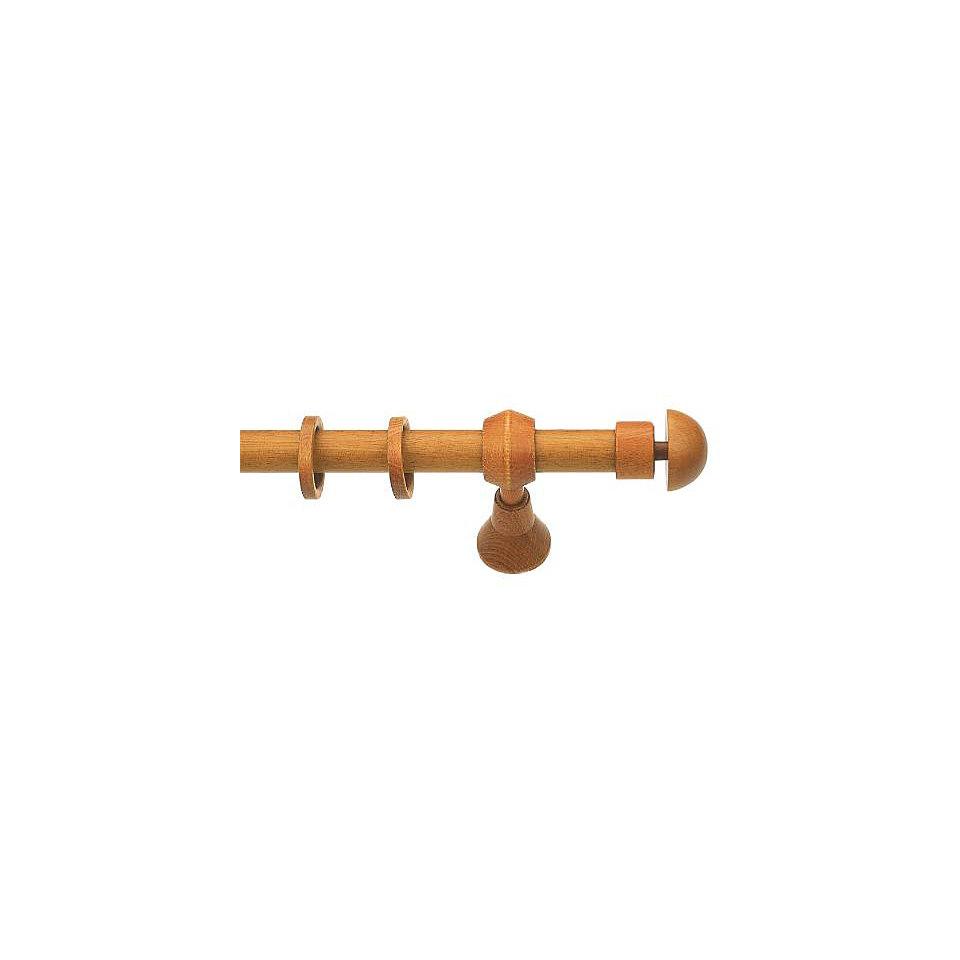 Gardinenstange, Garesa, �Konus Halbkugel�, 2-l�ufig nach Ma� � 28 mm
