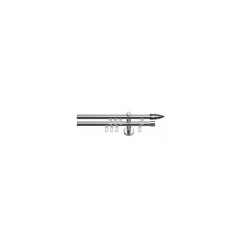 Gardinenstange, Indeko, »Biel«, 2-läufig, im Fixmaß, ø 20 mm