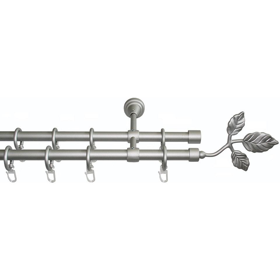 Gardinenstange nach Maß ø 16 mm, Garesa, »Rustika Blatt«