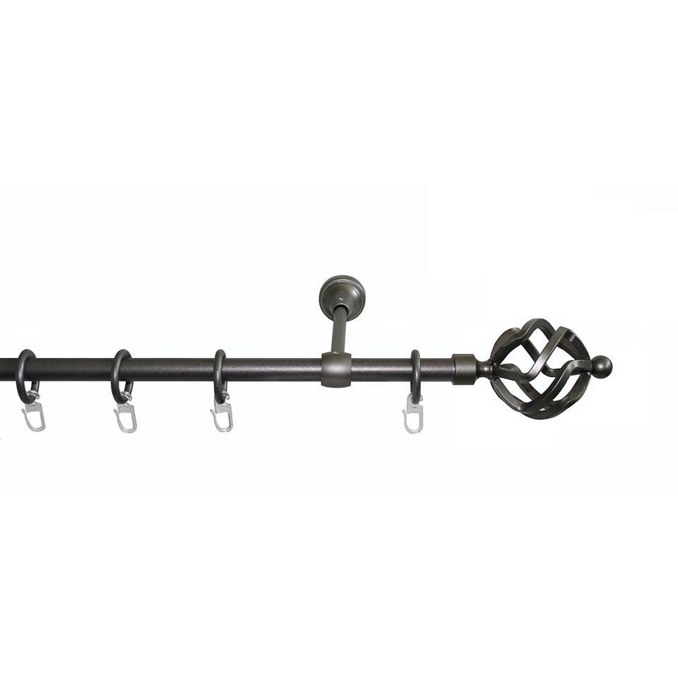 Gardinenstange nach Ma� � 16 mm, Garesa, �Rustika Korb�
