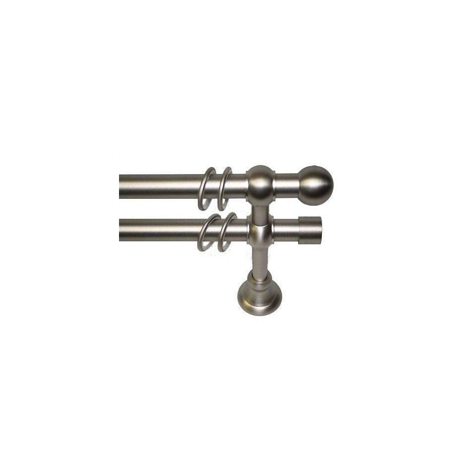 Gardinenstange nach Maß ø 20 mm, Garesa, »Paris Kugel«