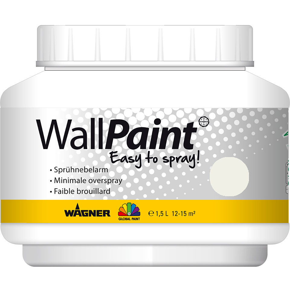 Global Paint »WallPaint«, 1,5 l, pure