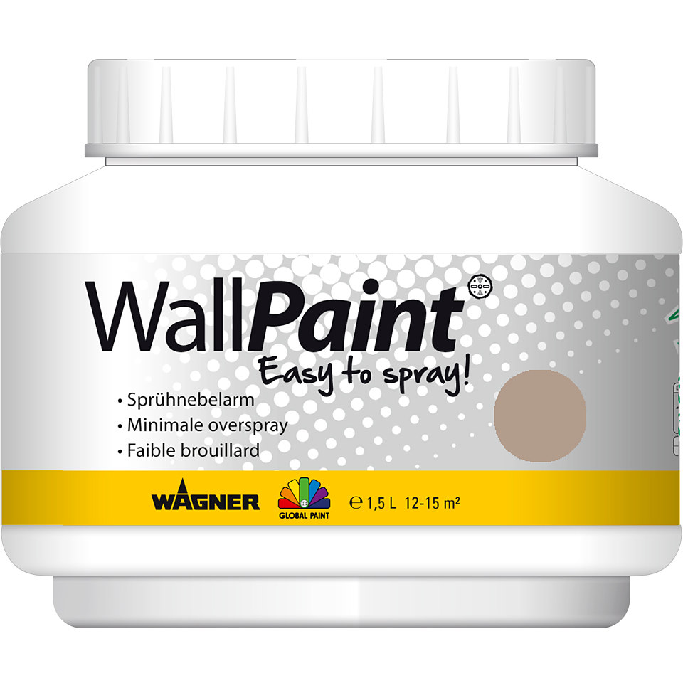 Global Paint »WallPaint«, 1,5 l, taupe