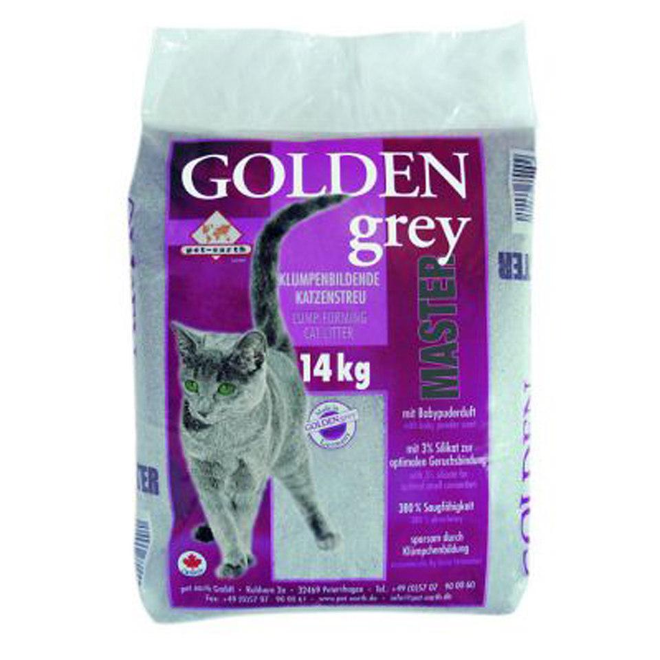 Golden Grey Master Katzenstreu, 14 kg
