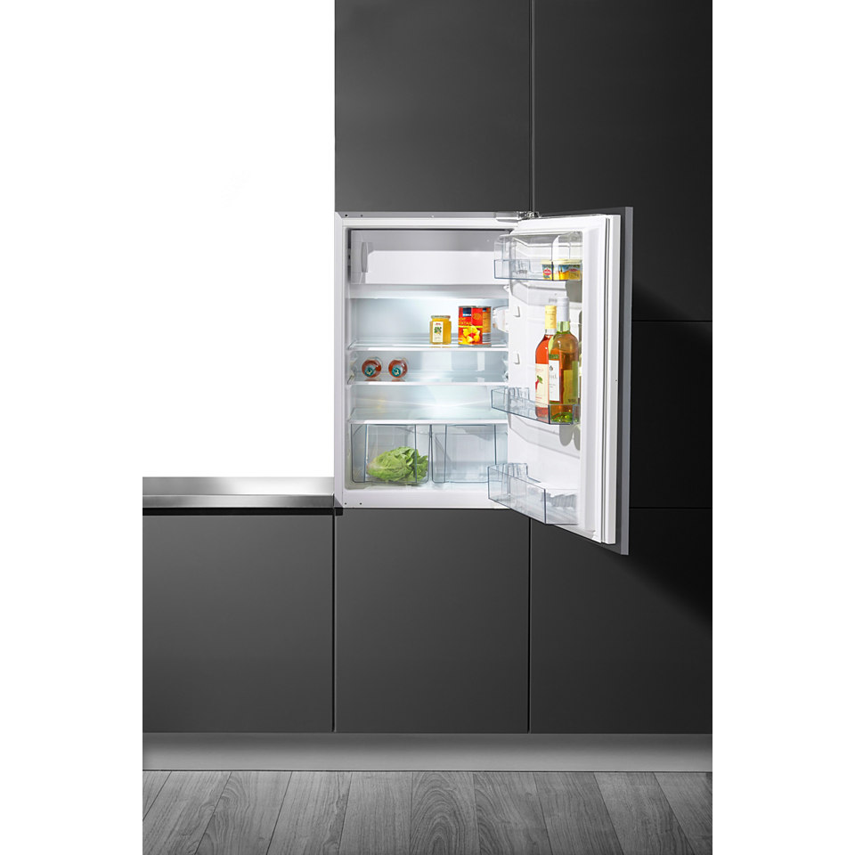 Gorenje integrierfähiger Einbaukühlschrank RBI 4093 AW, A+++, 87,5 cm hoch