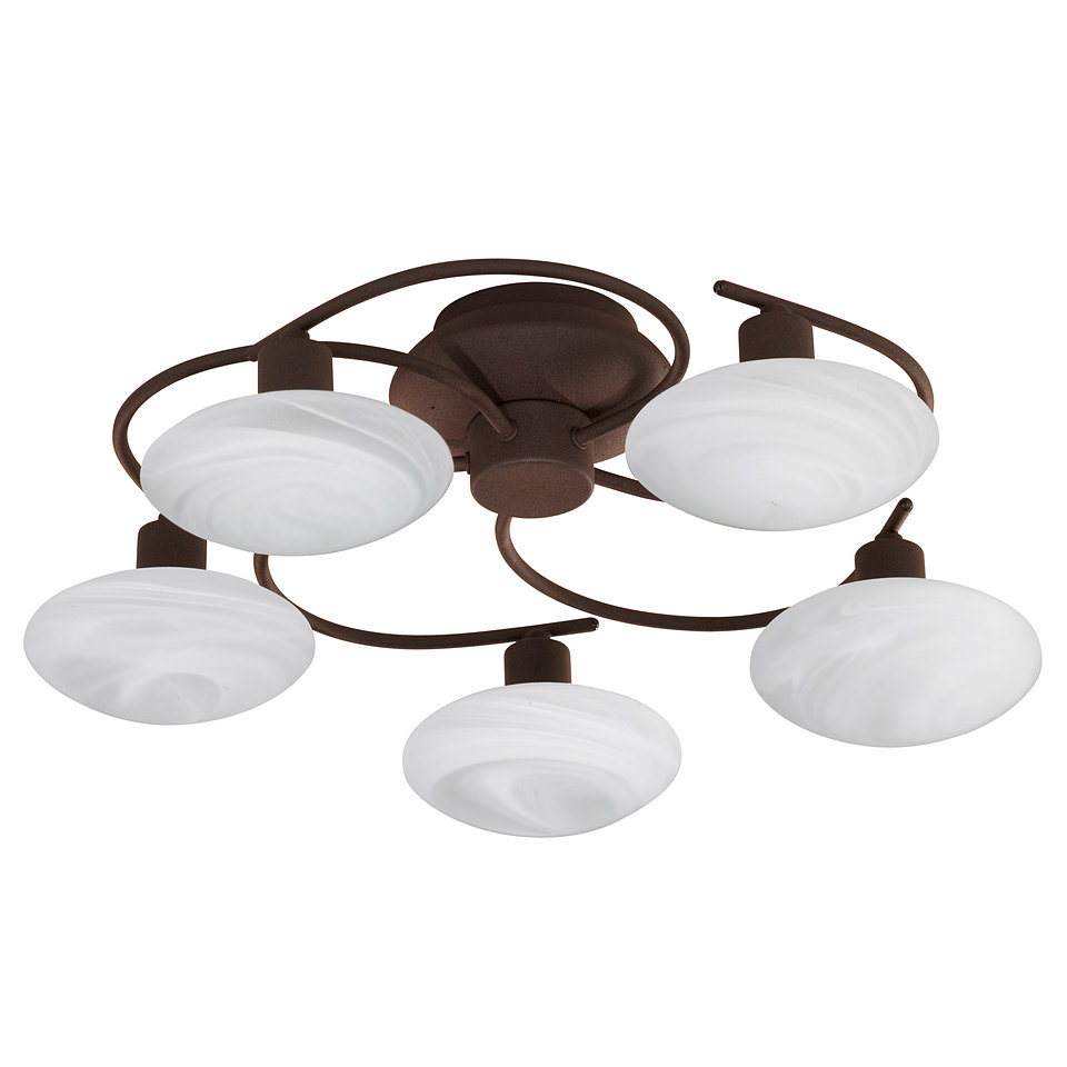 Halogen-Deckenlampe, 5-flg., Trio
