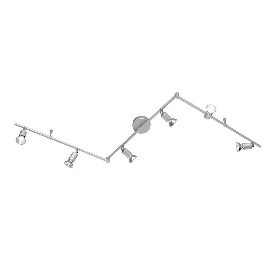 Halogen-Deckenlampe, 6-flg, Trio