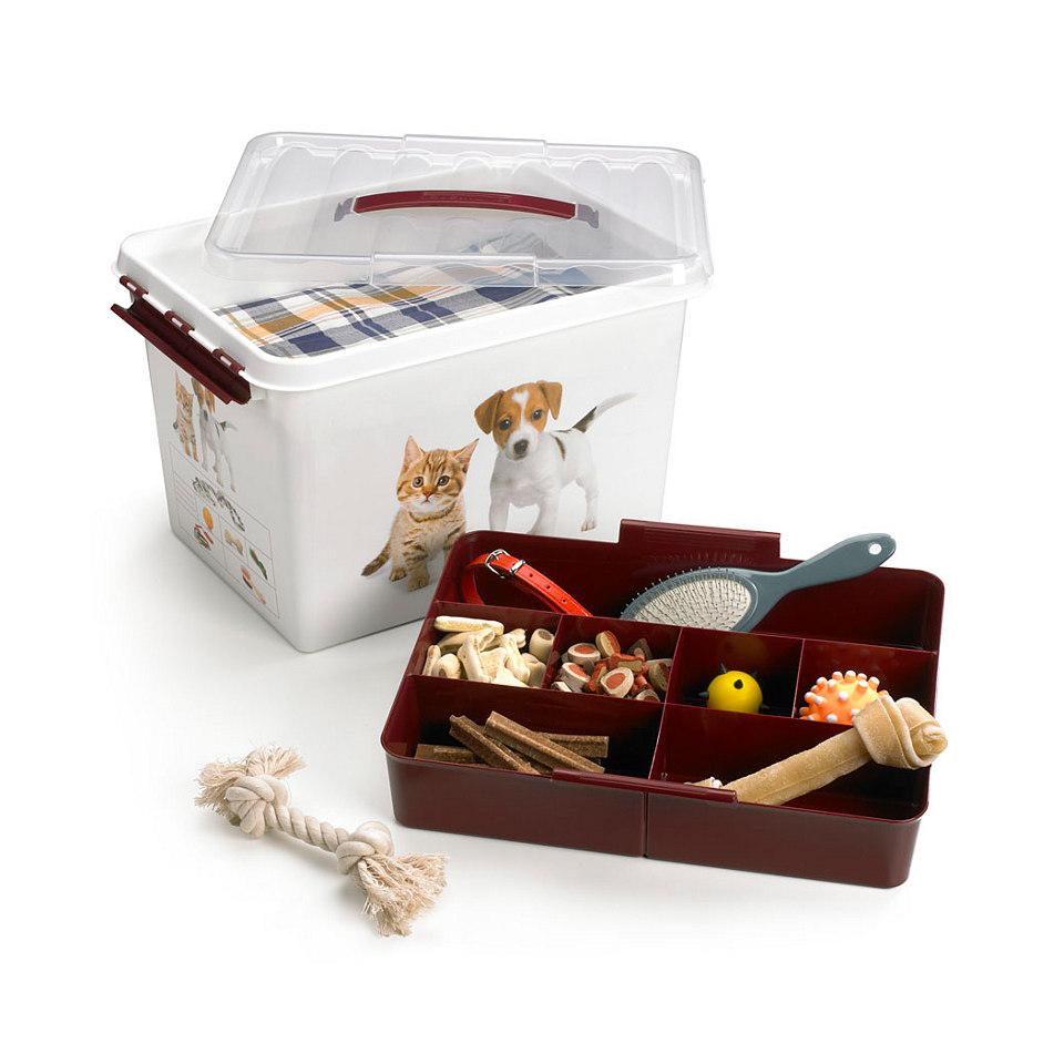 Haustier-Aufbewahrungsboxen, 2er Set