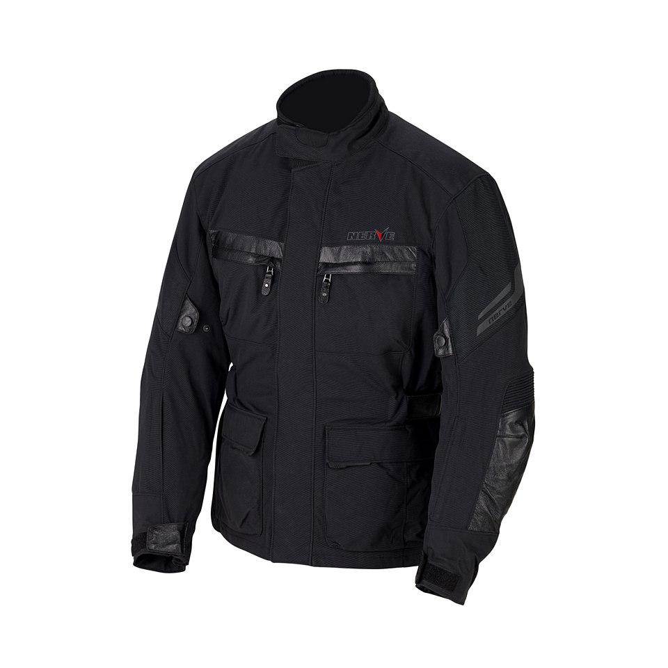 Herrenmotorradjacke »Blaze Jacke - schwarz«