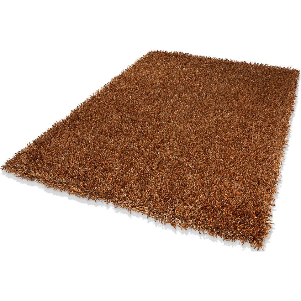 Hochflor-Teppich, Dekowe, »Corado«, Höhe 40 mm, handgewebt mit Melange-Effekt