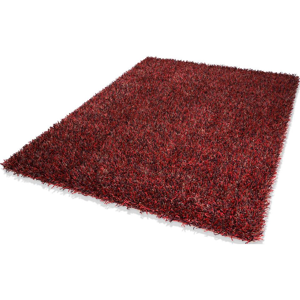 Hochflor-Teppich, Dekowe, �Corado�, H�he 40 mm, handgewebt mit Melange-Effekt