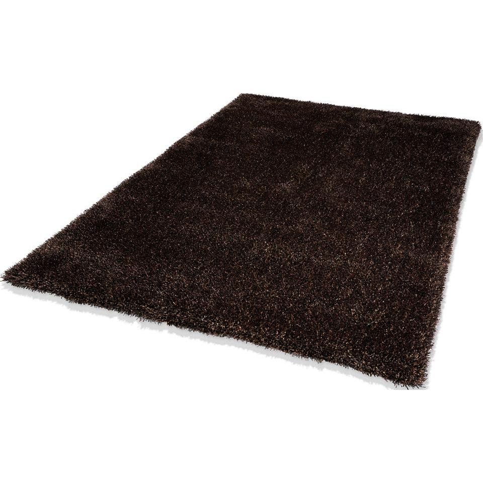 Hochflor-Teppich, Dekowe, �Luxury�, H�he 35 mm, getuftet mit Melange-Effekt