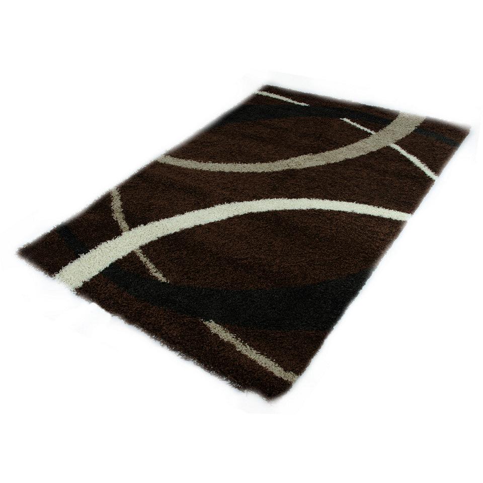 Hochflor-Teppich, KSH Interieur, �Domino 2118�, H�he ca. 43mm, gewebt