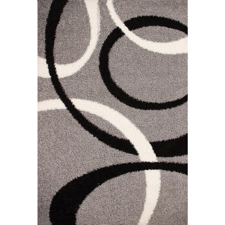 Hochflor-Teppich, Lalee, »Joy 119«, Höhe ca. 40mm, gewebt