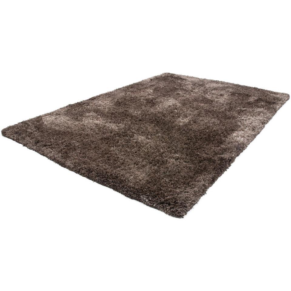 Hochflor-Teppich, Lalee, »Monaco«, Höhe 40mm, hangearbeitet