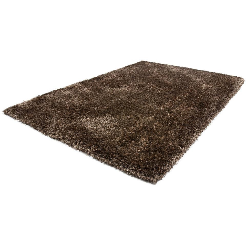 Hochflor-Teppich, Lalee, �Monaco�, H�he 40mm, hangearbeitet