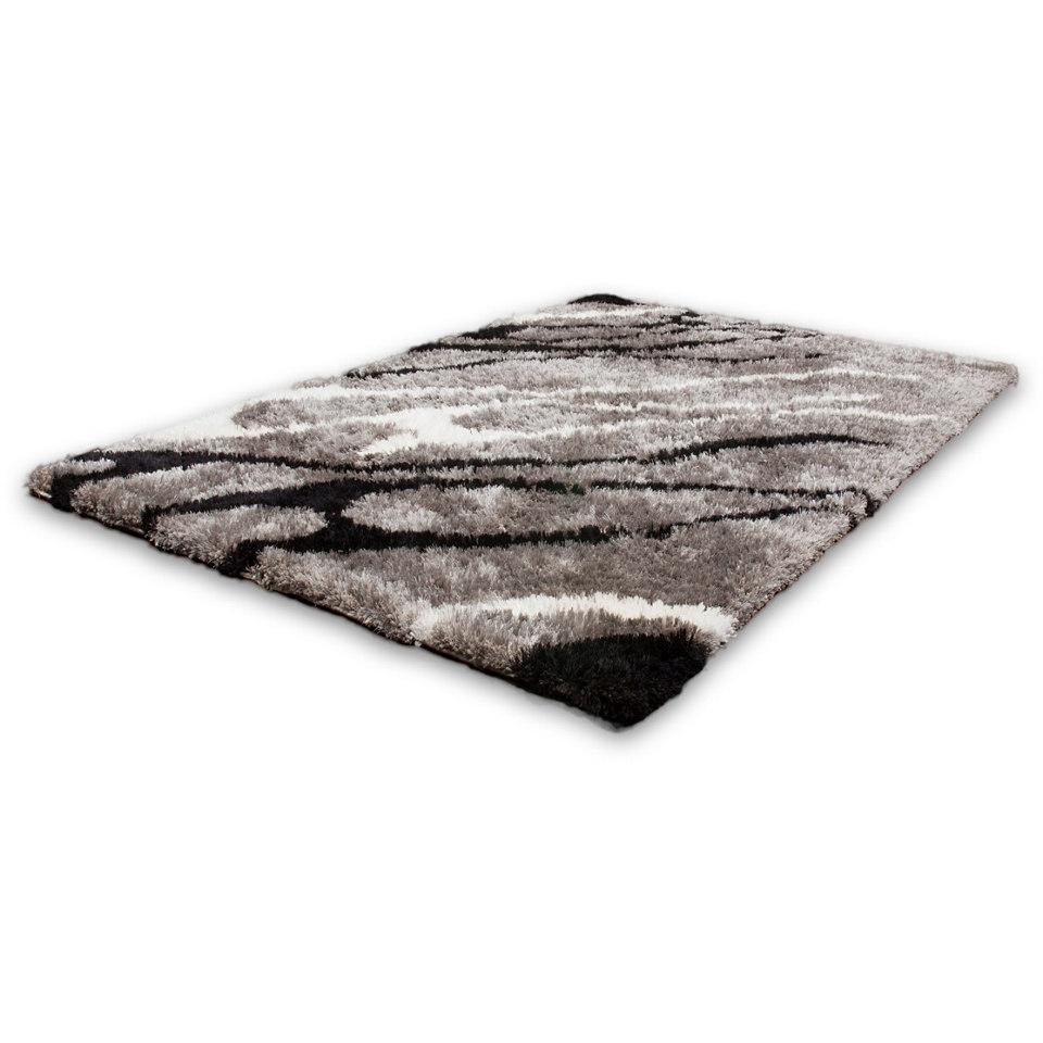 Hochflor-Teppich, Lalee, »Nova 601«, Höhe ca. 35mm, handgewebt