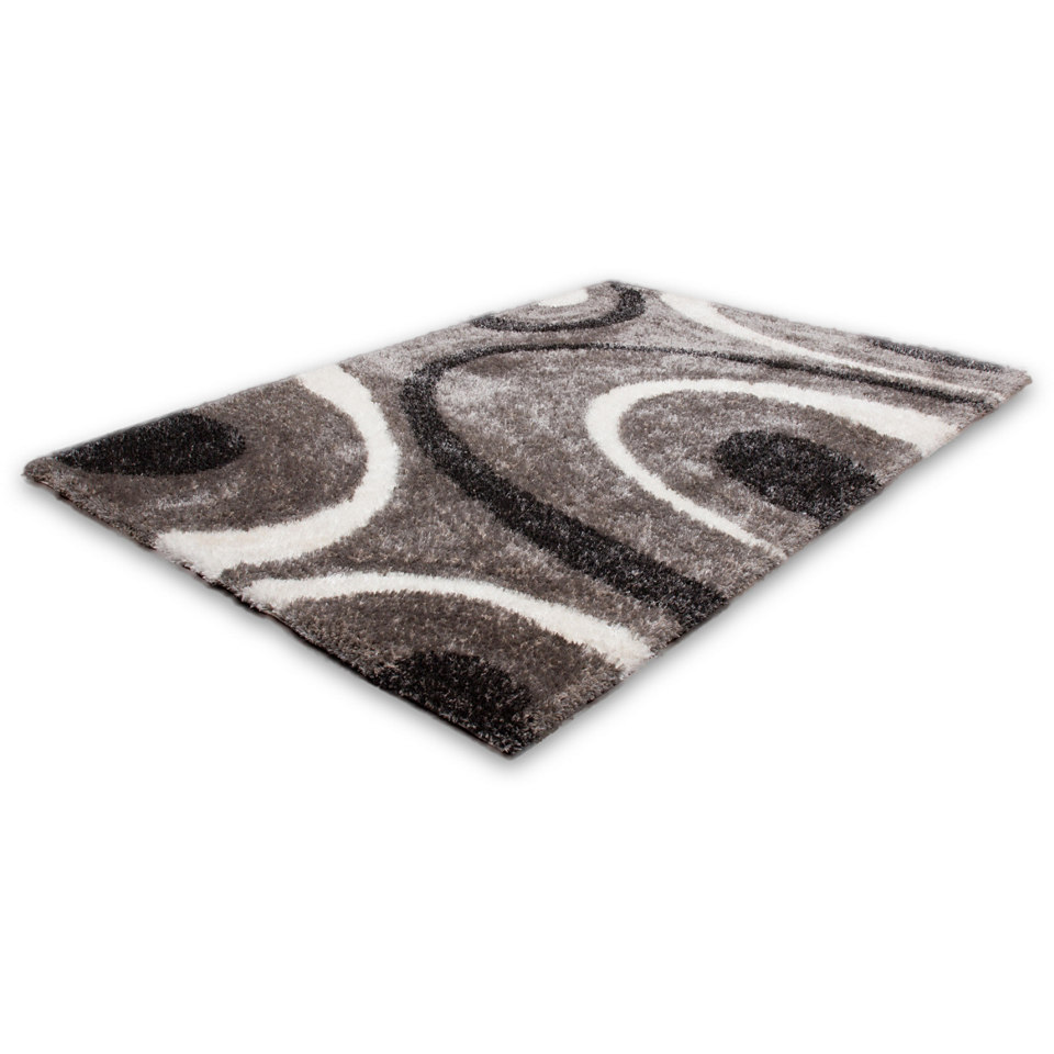 Hochflor-Teppich, Lalee, »Nova 603«, Höhe ca. 35mm, hangearbeitet