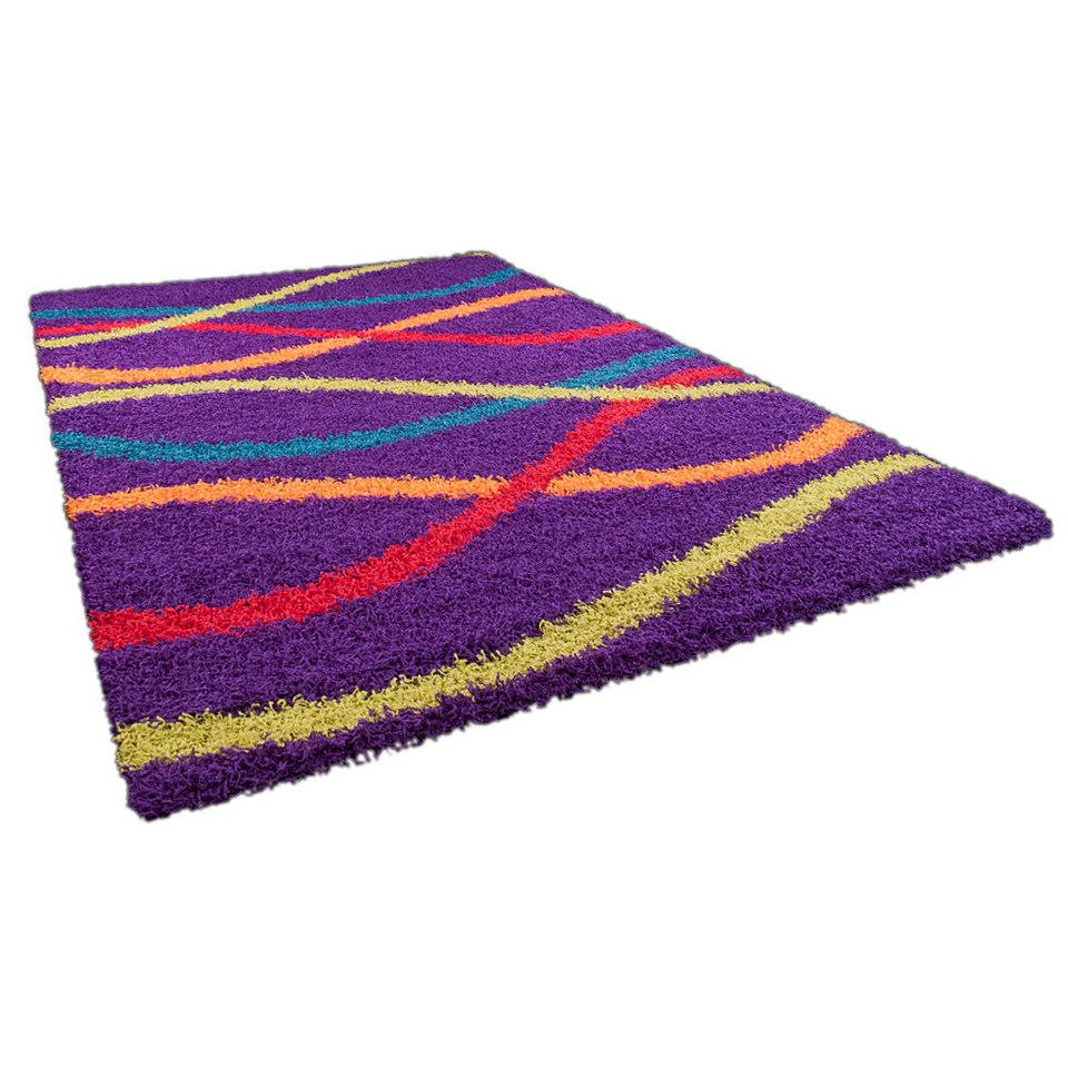 Hochflor-Teppich, Oriental Weavers, »Happy Shaggy 2«, Höhe ca. 40mm, gewebt