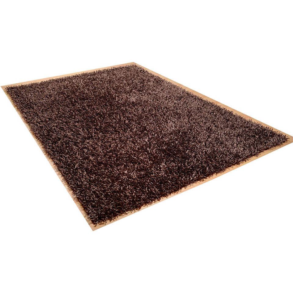 Hochflor-Teppich, Theko, �Linyi�, H�he ca. 40mm, handgetuftet