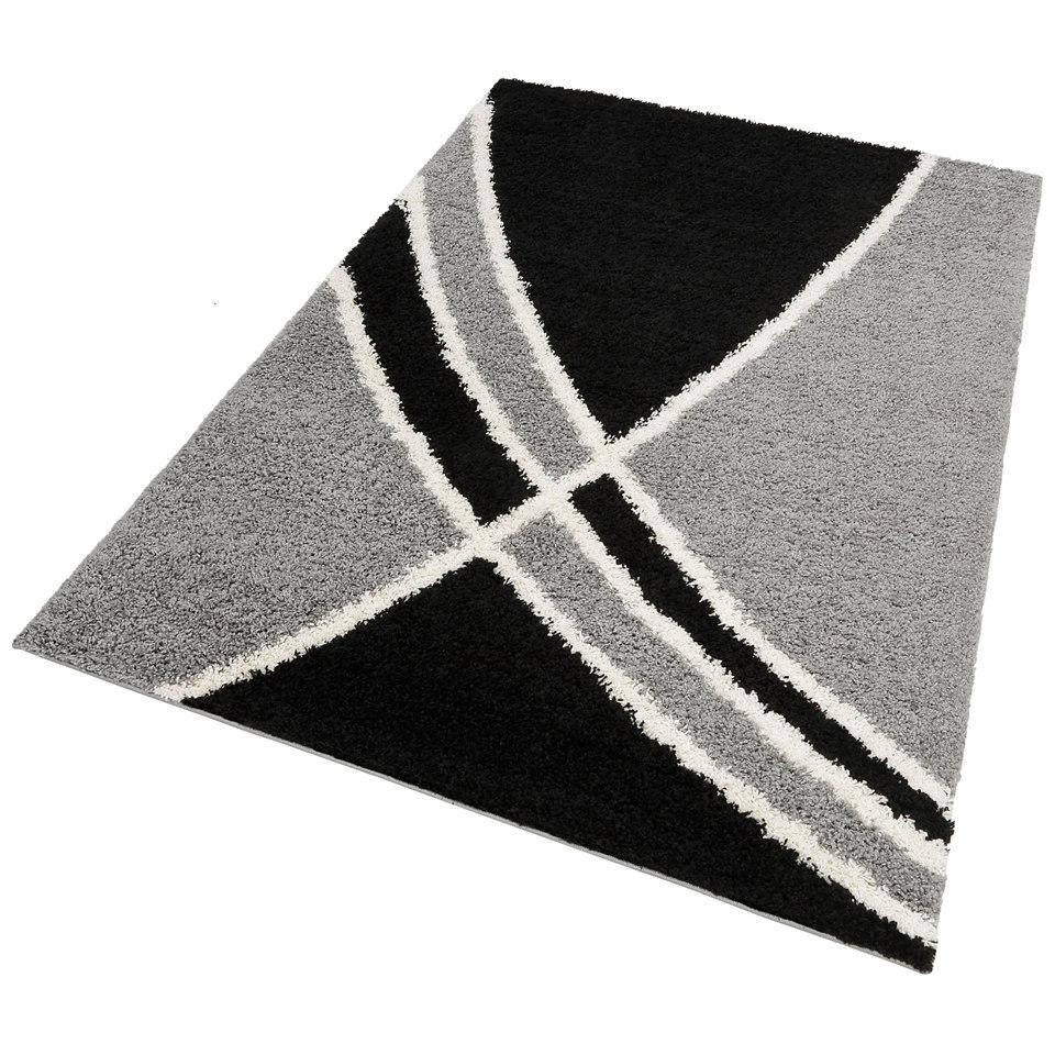 Hochflor-Teppich, my home, »Alessandria«, Höhe 30mm, gewebt