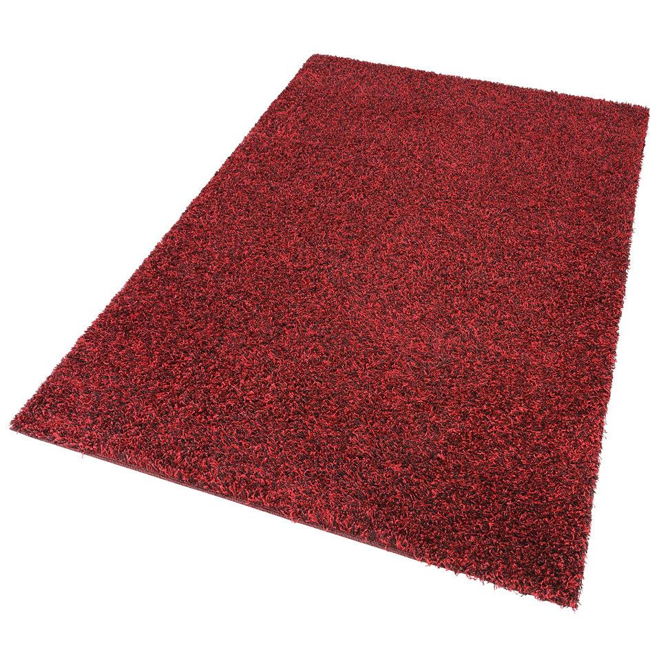 Hochflor-Teppich, my home, �Finn�, H�he 45mm, gewebt mit Melange-Effekt