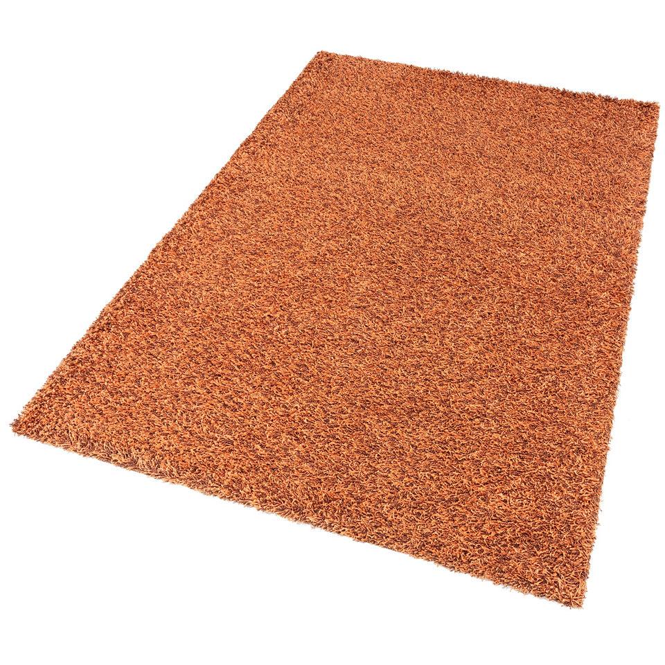 Hochflor-Teppich, my home, »Finn«, Höhe 45mm, gewebt mit Melange-Effekt