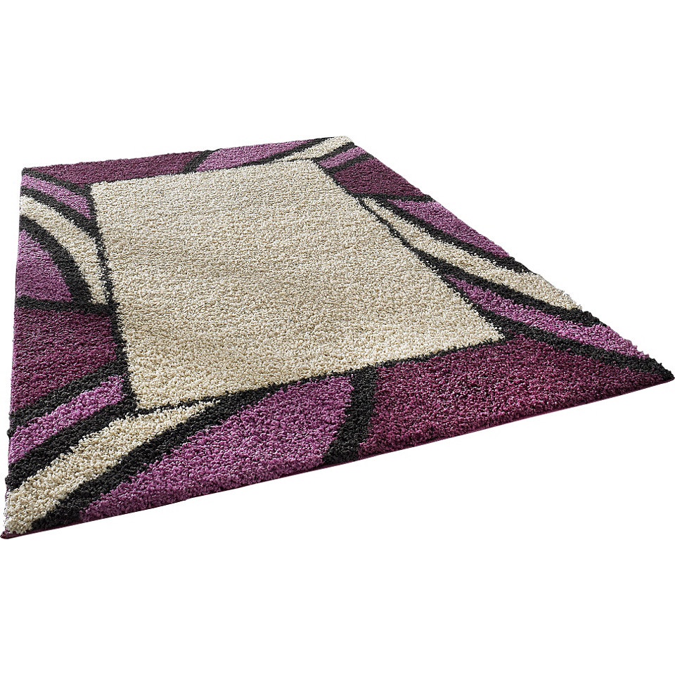 Hochflor-Teppich, my home, »Heide«, Höhe 30mm, gewebt