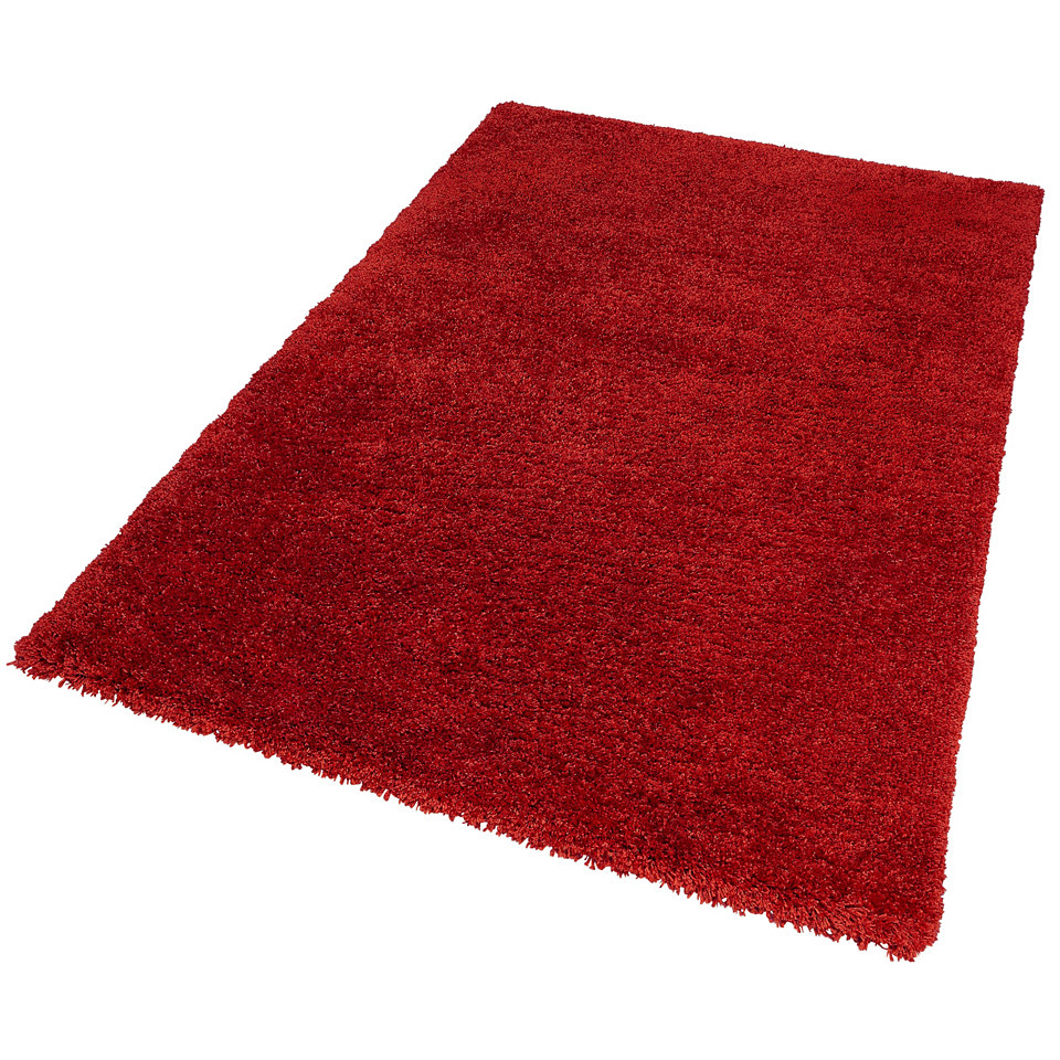 Hochflor-Teppich, my home, »Robert«, Höhe 50mm, Microfaser