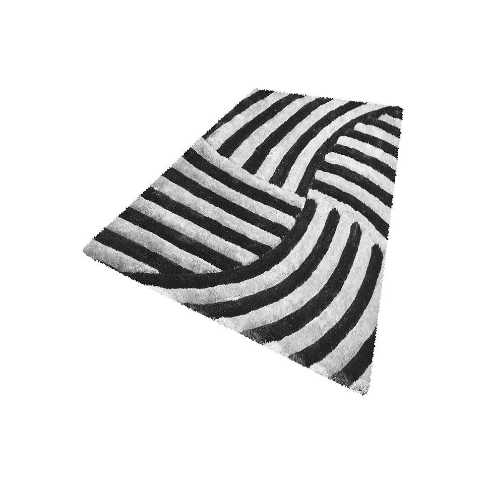 Hochflor-Teppich, my home, �Selin�, Hoch-Tief-Effekt, H�he 35 mm