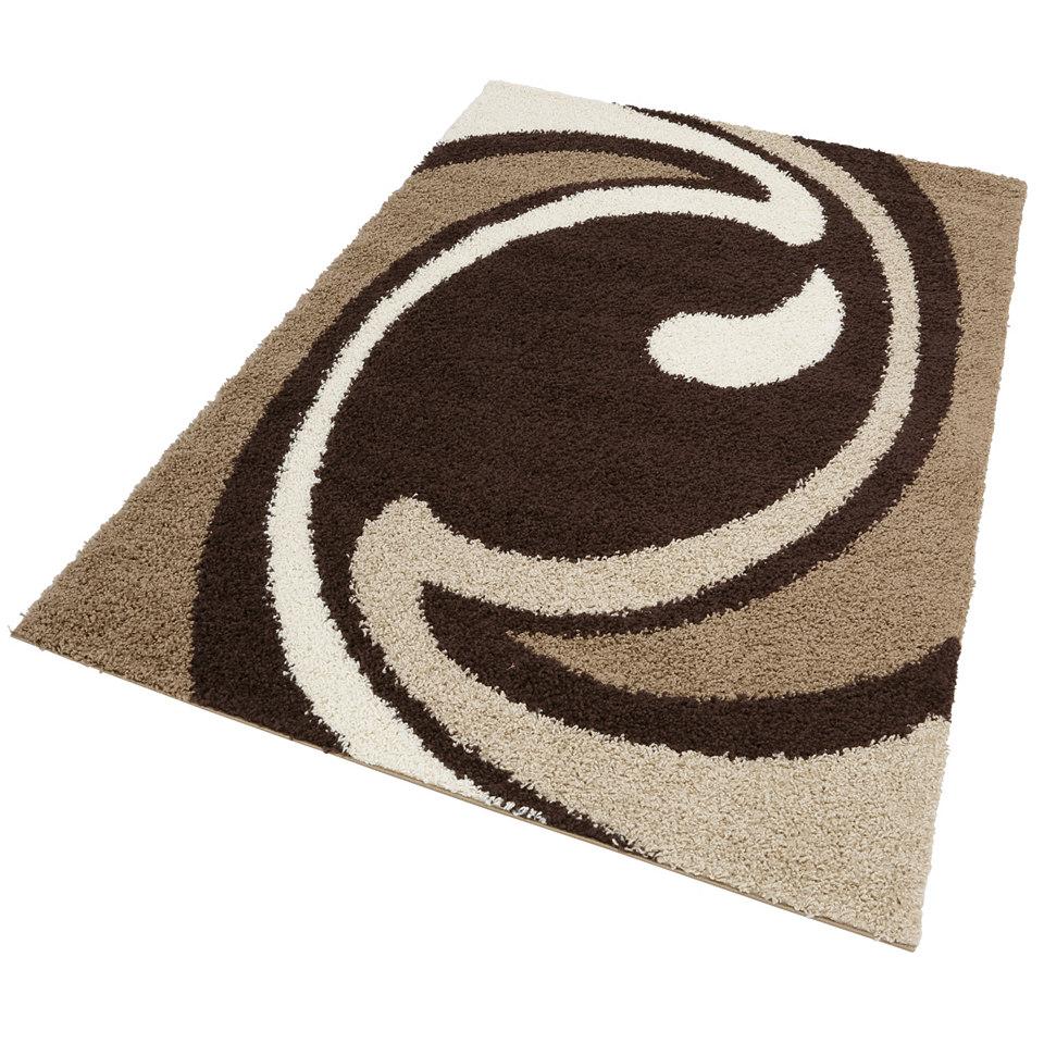 Hochflor-Teppich, my home, »Tarragona«, Höhe 30 mm, gewebt