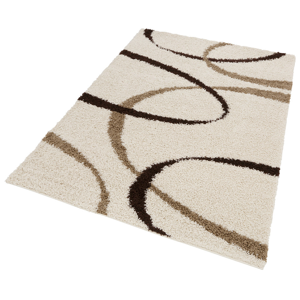 Hochflor-Teppich, my home, �Vigo�, H�he 30 mm, gewebt