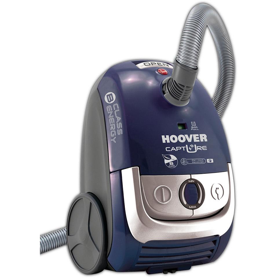 Hoover Bodenstaubsauger Capture CP70_CP20, mit Beutel, dunkelblau / silber